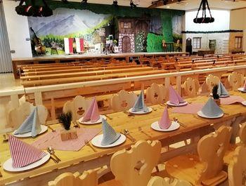 Saal im Alpensaal