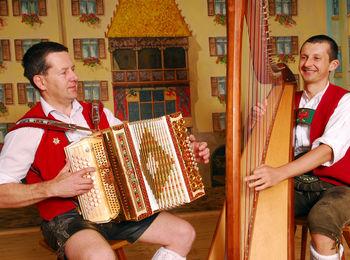 Traditionelle echte Volksmusik