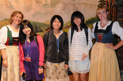 Besucher aus Fukushima