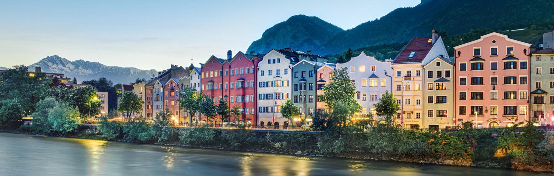 Innsbruck - Skyline am Inn
