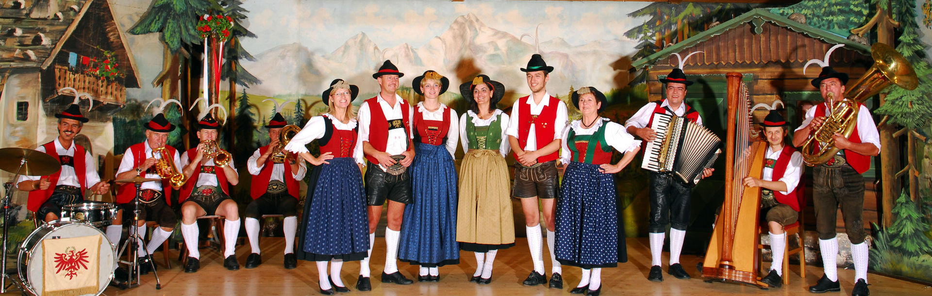 Tiroler Alpenbühne Geschwister Gundolf
